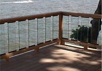 Deck - Assemble Railings, Build Stairs