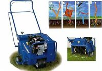 Plug Aerating-Rolling-Fertilizing, Dethatching Lawn Cutting!