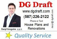 www.DGDraft.com - Architectural Design & Drafting &  Reno Plans