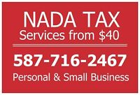 Income Tax - Personal and Small Business