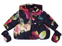 WANTED baby girls Ted Baker rose print winter coat Plz message me!!