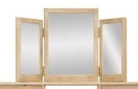 NEXT HUXLEY TRIPLE DRESSING TABLE MIRROR brand new still in the box