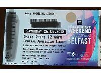 2 Radio 1 Biggest Weekend Belfast tickets