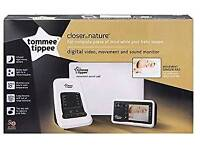 Tommie tippee close to nature baby monitor with sensor pad