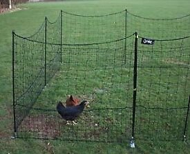 Animal fencing omlet for chickens etc