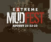 2 Tickets Extreme Mudfest Music Mud & Mayhem
