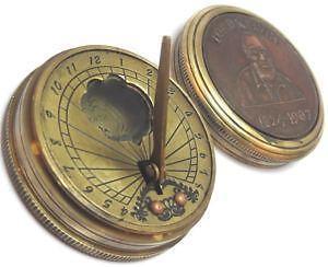 Vintage Brass Compass Ebay