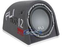 Fli trap 12 inch 1000w sub / built in amp