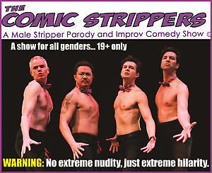 4 tickets to The Comic Strippers @ Rebecca Cohn October 23