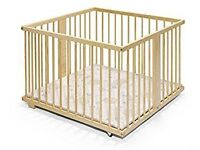 Lovely wooden playpen in excellent condition from smoke free home. Used for 6 months