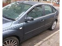 Ford Focus N/S Front Wing In Grey Breaking For Parts (2005)