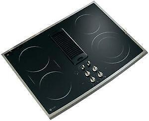 30 electric cooktop downdrafts