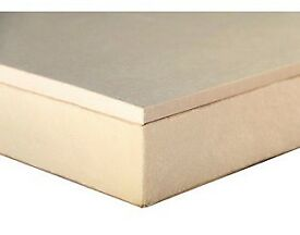 1 sheet Thermal plasterboard 2400mm x 800mm