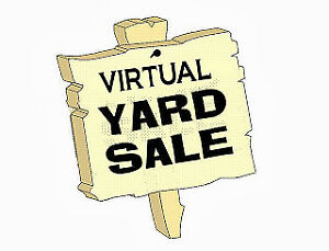 Virtual yard sale