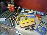 HORBBY DULBO BOXED ITEMS STATIONS SIGNAL LEVEL COACHES TRACK