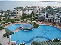 Sea-view Bulgarian apartment in 5 star spa resort late availability and cheap flights