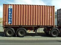 20' EXPORT GRADE Shipping Containers - 604-229-2257