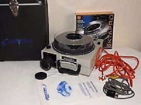 Saville Proslide Solo Projector. Includes all cable and spare Kodak Ektapro for showing slides.