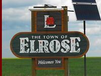 Elrose, Sk- Short Term Rent Seasonal or Weekly Rates availble