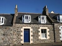 Cosy fully furnished 2 bedroom cottage in centre of Cullen
