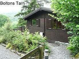 Last Minute Cancellation in Boltons Tarn log Cabin commencing Sat 30th October