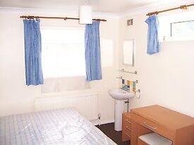 4 minutes walk from station, bills included, quiet, clean room with basin