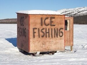 Looking for ice fishing shack