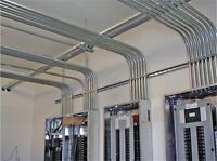 Electrical contractor at your service.