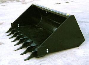 SKID STEER BUCKETS - ALL SIZES - CANADIAN BUILT
