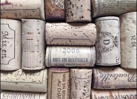 Natural used mixed wine corks
