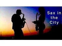 SAX IN THE CITY - FULL OF SIZZLING SAX