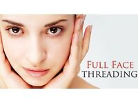 Full Facial Threading