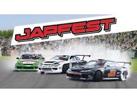 Fast Car and Jap Fest Tickets - Donnington