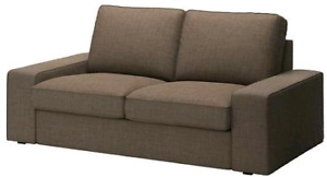 BNIB Ikea kivik loveseat isunda brown cover