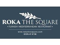 Restaurant floor staff required for busy new restaurant in Bagshot Village
