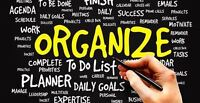 GET ORGANIZED FOR SPRING