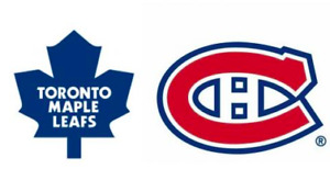 Maple Leafs vs Canadiens 26 september
