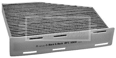Borg & Beck Interior Air Filter Cabin Pollen BFC1069 - GENUINE - 5 YEAR WARRANTY