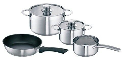 Bosch HEZ390042 Four Piece Pan Set for Induction Hobs