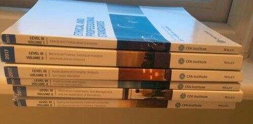 Cfa Program Curriculum 2017 Level Iii 3 Volumes 1 6 Bpp Study Material