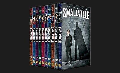 Smallville season 1-10 dvd Aberglasslyn Maitland Area Preview
