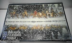 MYSTIC REFLECTIONS 1000 PIECE JIGSAW PUZZLE FX SCHMID