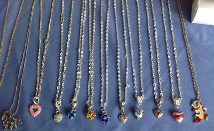 11 X necklaces