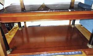 Bombay Company - Varese Black & White Marble Top Coffee Table