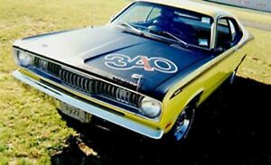 1970 to 1972 Plymouth Duster 340 4 speed