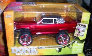 JADA TOYS DONK BOX BUBBLE CADILLAC BROUGHAM 85 LOWRIDER DIECAST