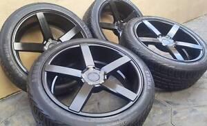 "20"" Avant garde Concave Rims and Tyres = NEW = Jandakot Cockburn Area Preview"