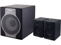 M-Audio BX5 2.1 Active SoundSystem with Subwoofer.