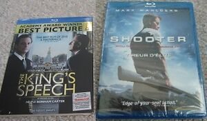 The King's Speech or Shooter on Blu-Ray - Still Sealed