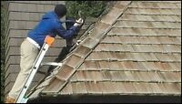 Cedar Shakes Roofing - cleaning - repairs 13%off
